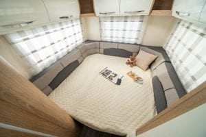 5 – Unleashed Motorhome Hire – Autoroller 746 – Lounge Bed